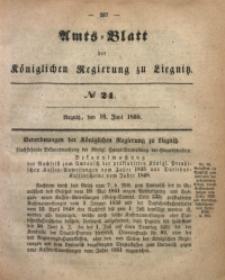 Amts-Blatt der Königlichen Regierung zu Liegnitz, 1855, Jg. 45, No 24