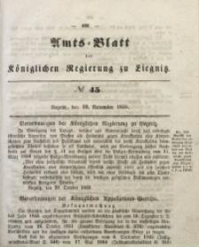 Amts-Blatt der Königlichen Regierung zu Liegnitz, 1855, Jg. 45, No 45