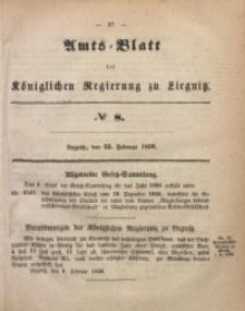 Amts-Blatt der Königlichen Regierung zu Liegnitz, 1856, Jg. 46, No 8