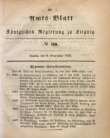 Amts-Blatt der Königlichen Regierung zu Liegnitz, 1856, Jg. 46, No 36