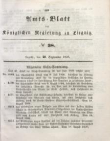 Amts-Blatt der Königlichen Regierung zu Liegnitz, 1856, Jg. 46, No 38