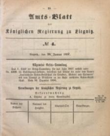 Amts-Blatt der Königlichen Regierung zu Liegnitz, 1857, Jg. 47, No 4