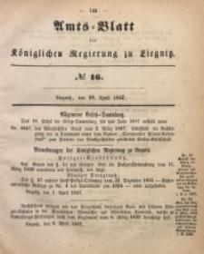 Amts-Blatt der Königlichen Regierung zu Liegnitz, 1857, Jg. 47, No 16