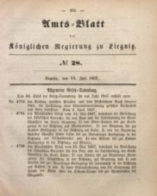 Amts-Blatt der Königlichen Regierung zu Liegnitz, 1857, Jg. 47, No 28