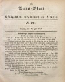 Amts-Blatt der Königlichen Regierung zu Liegnitz, 1857, Jg. 47, No 29