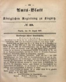 Amts-Blatt der Königlichen Regierung zu Liegnitz, 1857, Jg. 47, No 33