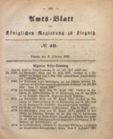 Amts-Blatt der Königlichen Regierung zu Liegnitz, 1857, Jg. 47, No 40