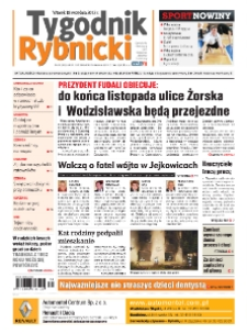 Tygodnik Rybnicki : Czerwionka-Leszczyny, Lyski, Gaszowice, Jejkowice, Świerklany. R. 7, nr 38 (306).