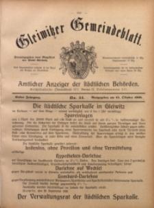 Gleiwitzer Gemeindeblatt, 1910, Jg. 1, Nr 44