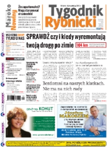 Tygodnik Rybnicki : Czerwionka-Leszczyny, Lyski, Gaszowice, Jejkowice, Świerklany. R. 8, nr 16 (336).