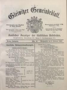 Gleiwitzer Gemeindeblatt, 1912, Jg. 3, Nr. 6
