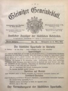 Gleiwitzer Gemeindeblatt, 1913, Jg. 4, Nr. 11