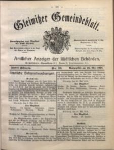 Gleiwitzer Gemeindeblatt, 1914, Jg. 5, Nr. 23
