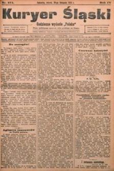 Kuryer Śląski, 1910, R. 4, nr 274