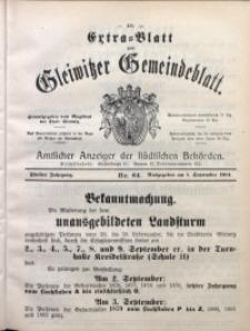 Gleiwitzer Gemeindeblatt, 1914, Jg. 5, Nr. 64