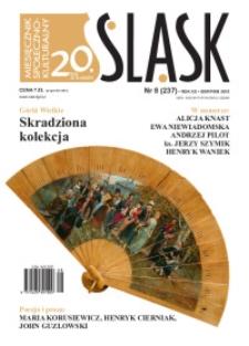 Śląsk, 2015, R. 20, nr 8