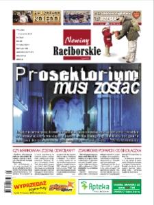 Nowiny Raciborskie. R. 17, nr 3 (822).