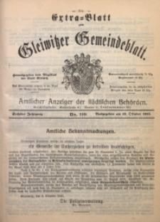 Gleiwitzer Gemeindeblatt, 1915, Jg. 6, Nr. 110
