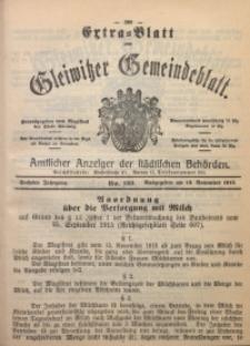 Gleiwitzer Gemeindeblatt, 1915, Jg. 6, Nr. 123