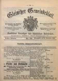 Gleiwitzer Gemeindeblatt, 1915, Jg. 6, Nr. 124