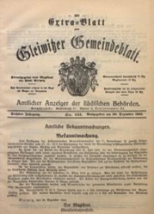 Gleiwitzer Gemeindeblatt, 1915, Jg. 6, Nr. 133