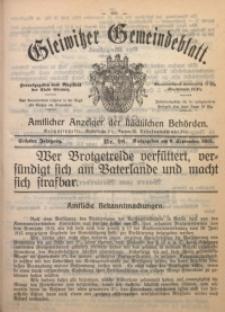 Gleiwitzer Gemeindeblatt, 1915, Jg. 6, Nr. 98