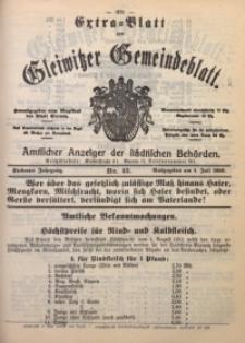 Gleiwitzer Gemeindeblatt, 1916, Jg. 7, Nr. 45