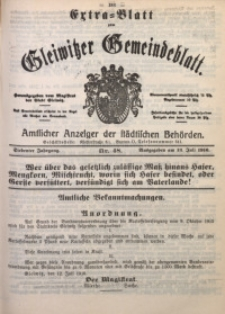 Gleiwitzer Gemeindeblatt, 1916, Jg. 7, Nr. 48