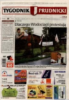 Tygodnik Prudnicki : prywatna gazeta lokalna gmin : Prudnik, Biała, Głogówek, Korfantów, Lubrza, Strzeleczki, Walce. R. 17, nr 25 (859).