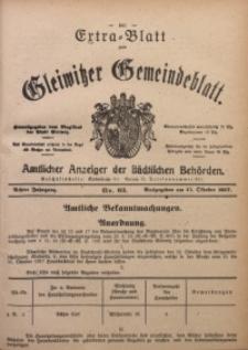 Gleiwitzer Gemeindeblatt, 1917, Jg. 8, Nr. 63