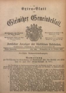 Gleiwitzer Gemeindeblatt, 1917, Jg. 8, Nr. 64