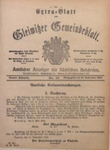 Gleiwitzer Gemeindeblatt, 1918, Jg. 9, Nr. 43