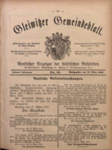 Gleiwitzer Gemeindeblatt, 1919, Jg. 10, Nr. 20