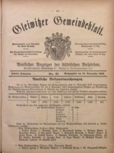 Gleiwitzer Gemeindeblatt, 1919, Jg. 10, Nr. 61