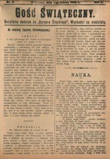Gość Świąteczny, 1908, R. 4, nr 9