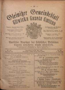 Gleiwitzer Gemeindeblatt. Gliwicka Gazeta Gminna, 1920, Jg. 11, Nr. 34
