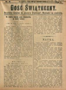 Gość Świąteczny, 1908, R. 4, nr 13