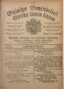 Gleiwitzer Gemeindeblatt. Gliwicka Gazeta Gminna, 1920, Jg. 11, Nr. 44