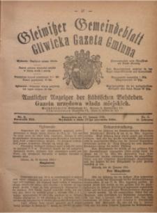Gleiwitzer Gemeindeblatt. Gliwicka Gazeta Gminna, 1921, Jg. 12, Nr. 5