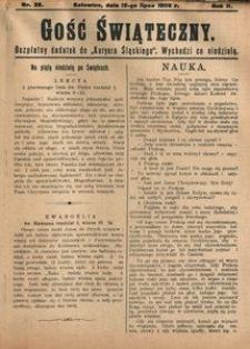 Gość Świąteczny, 1908, R. 4, nr 28