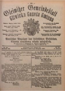 Gleiwitzer Gemeindeblatt. Gliwicka Gazeta Gminna, 1921, Jg. 12, Nr. 60