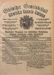 Gleiwitzer Gemeindeblatt. Gliwicka Gazeta Gminna, 1922, Jg. 13, Nr. 12