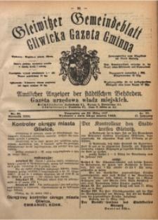 Gleiwitzer Gemeindeblatt. Gliwicka Gazeta Gminna, 1922, Jg. 13, Nr. 21