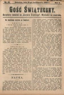 Gość Świąteczny, 1908, R. 4, nr 43