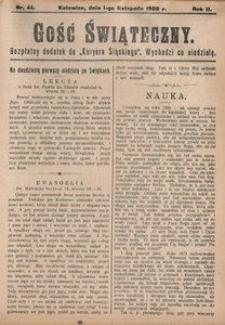 Gość Świąteczny, 1908, R. 4, nr 44