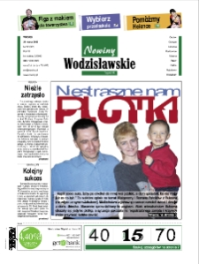 Nowiny Wodzisławskie : Godów, Gorczyce, Lubomia [...]. R. 7, nr 12 (321).