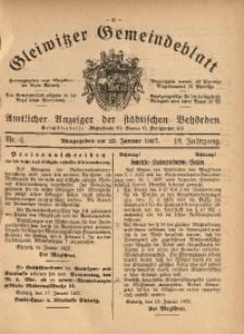 Gleiwitzer Gemeindeblatt, 1927, Jg. 18, Nr. 4