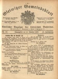 Gleiwitzer Gemeindeblatt, 1927, Jg. 18, Nr. 49