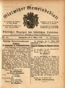 Gleiwitzer Gemeindeblatt, 1930, Jg. 21, Nr. 10