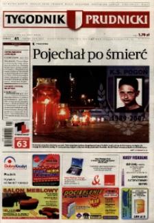 Tygodnik Prudnicki : prywatna gazeta lokalna gmin : Prudnik, Biała, Głogówek, Korfantów, Lubrza, Strzeleczki, Walce. R. 17, nr 41 (875).